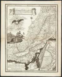 Map of Baikal, a Sea, a Lake, or an Anga... by